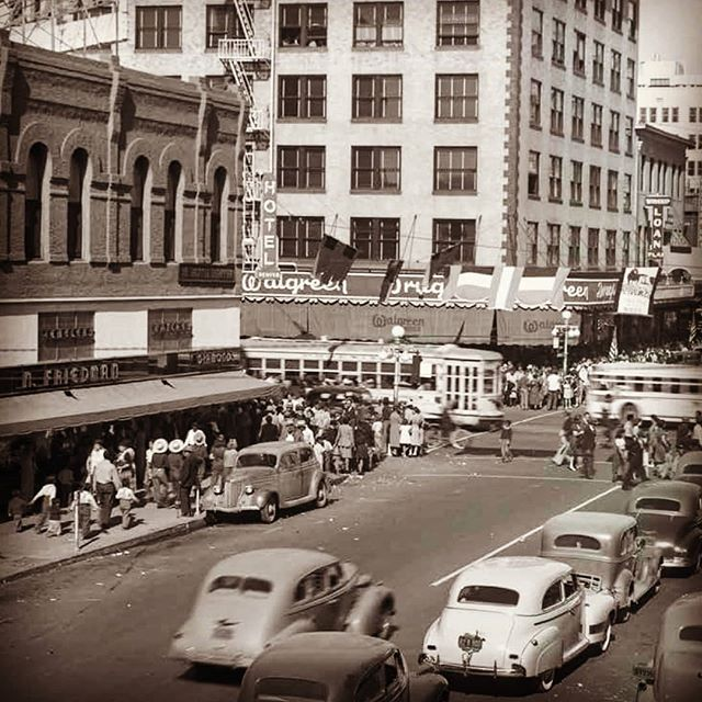 Busy Central-Washington 1940s