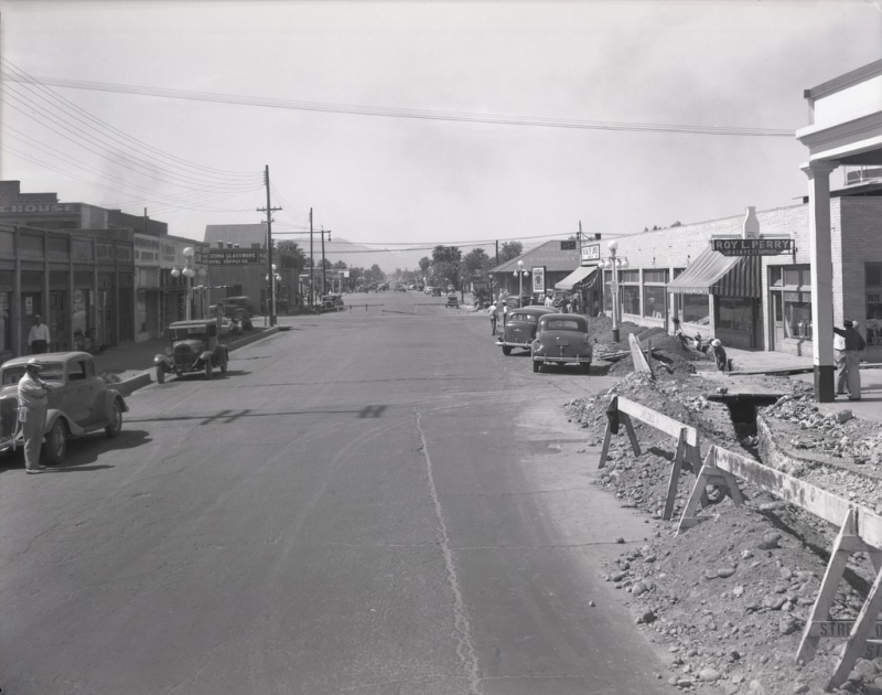 Central and Madison looking south 1939