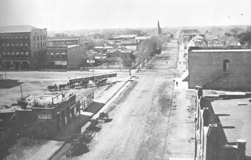 1st Ave and Adams 1890s