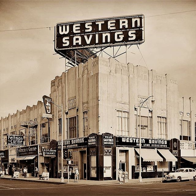 Western Savings deco