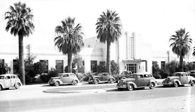 Ordnance_Service_Command_Shop_State_Fair_Building_WPA_built_in_1938_18th_Ave_McDowell_1940s(1)