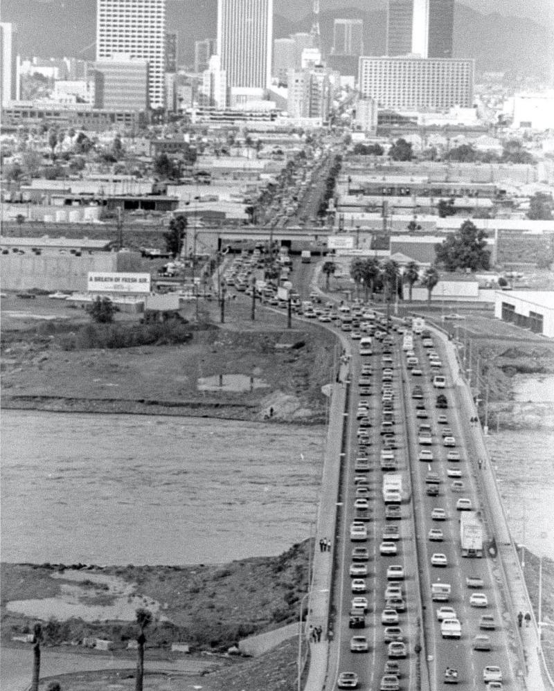 Central Ave  flood 1980 jpg