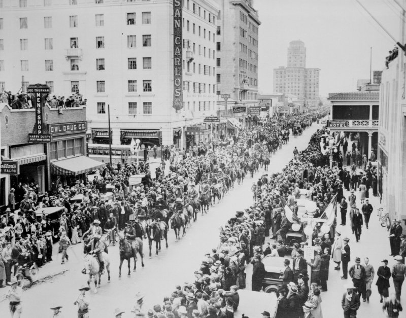 Rodeo of Rodeos parade 1937