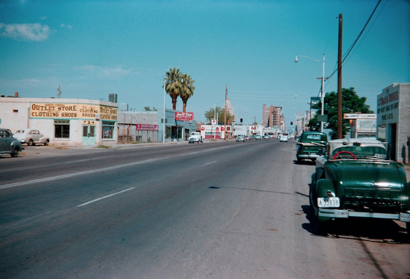 Central and Sherman 1950s.jog