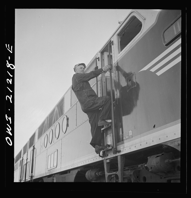 Engineer ATSF Winslow 1943