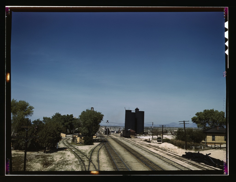 ATSF Yucca AZ 1943
