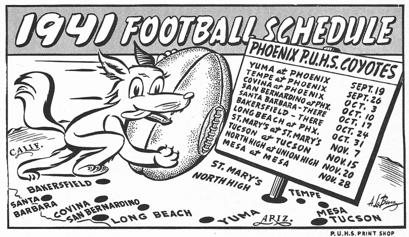 Phoenix_Union_High_School_football_schedule_1941
