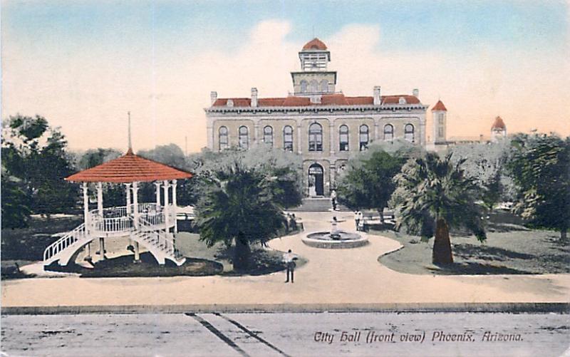 City_Hall_territorial_Washington_1st_St_front_view_gazebo_1912 copy