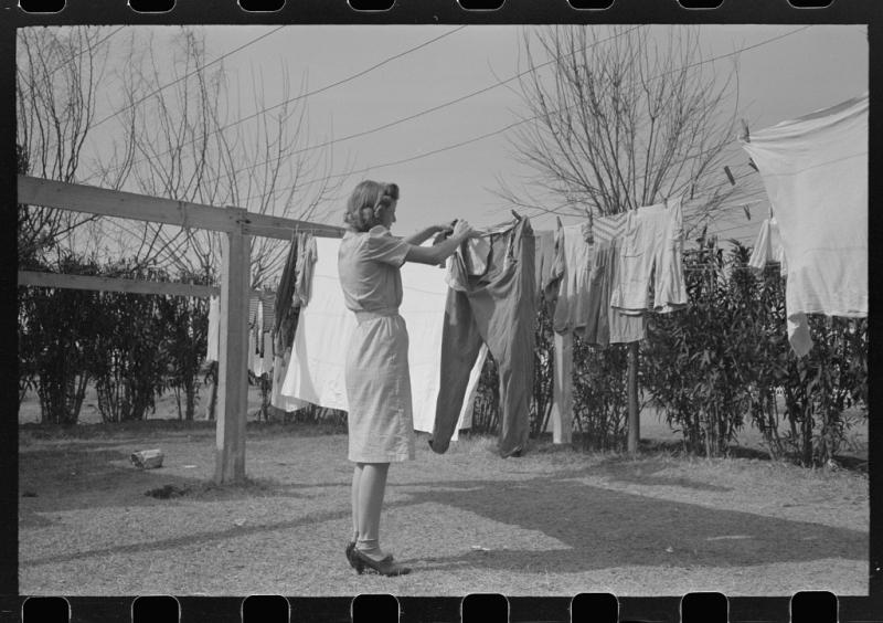 Washday Camelback Farms 1940