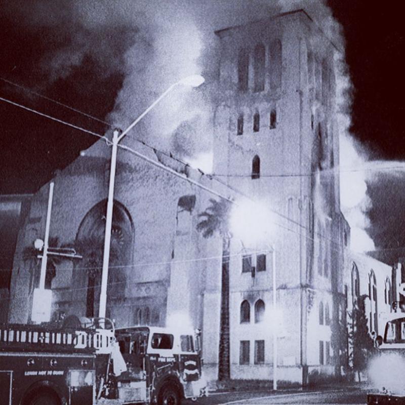 1984 First Baptist Church fire