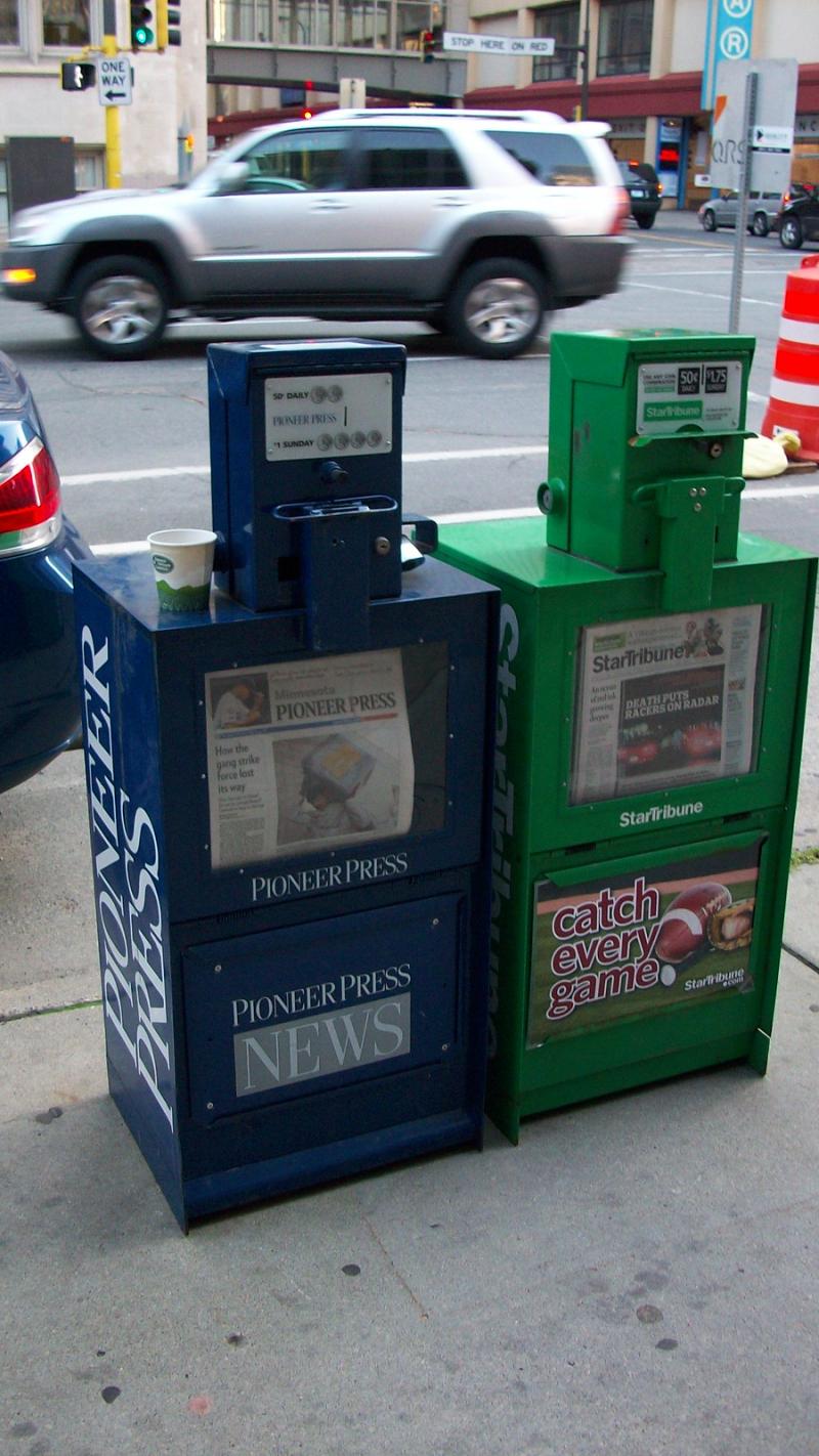 News racks