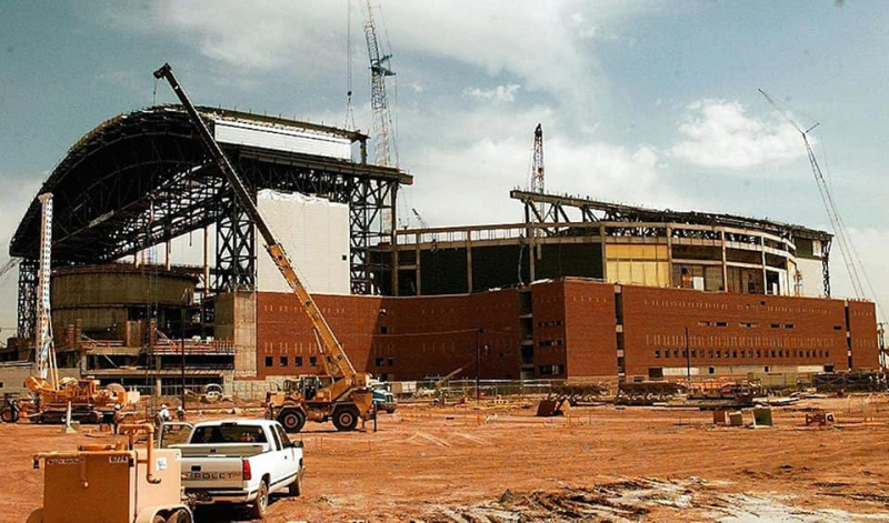 BOB under construction