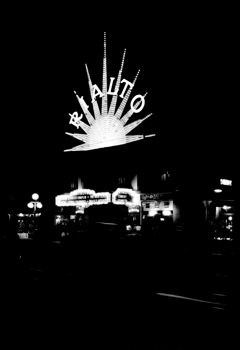Rialto at night