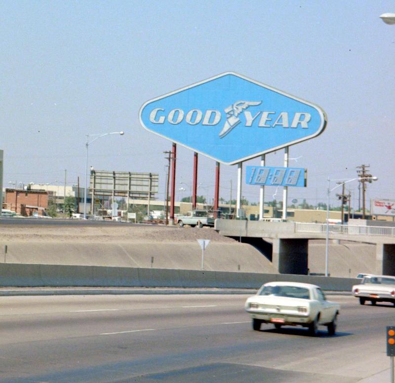 Goodyear sign
