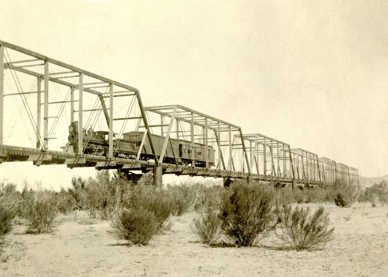 First Tempe RR bridge