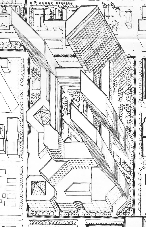 Arizona_Center_plans_ELS_Design_1985