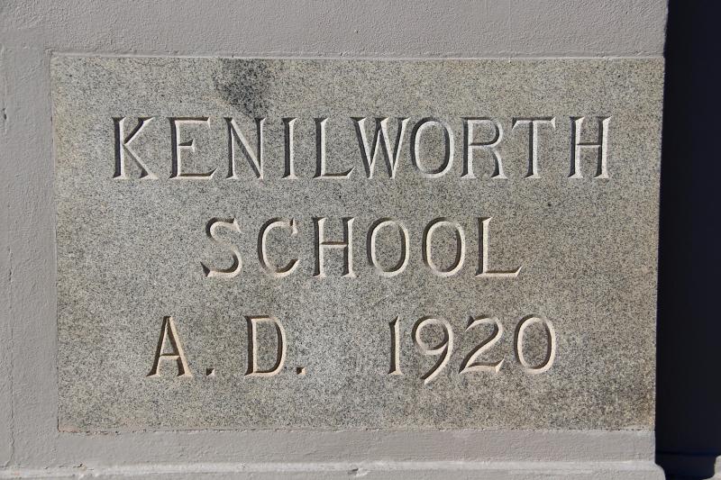 Kenilworth cornerstone