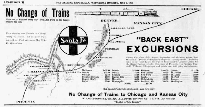1911 ATSF ad