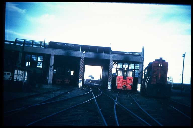 SP roundhouse