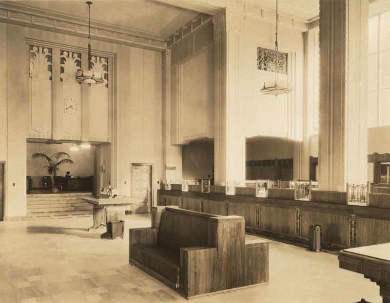 VNB lobby 1930s