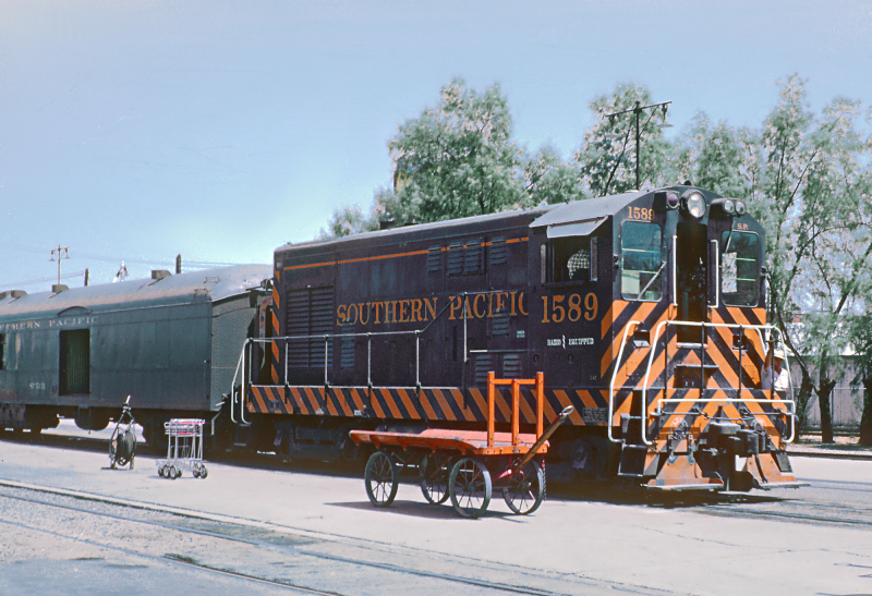 SP switcher Union Station 1962