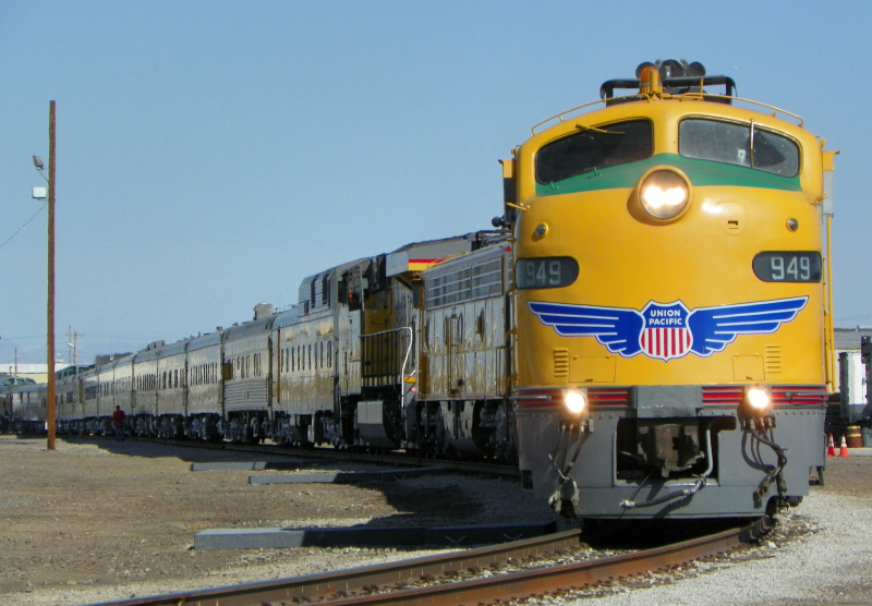 UP business train Dennis Stern 2012
