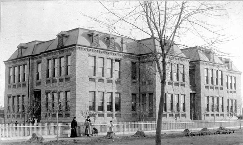 Central School  Central and Monroe  1899