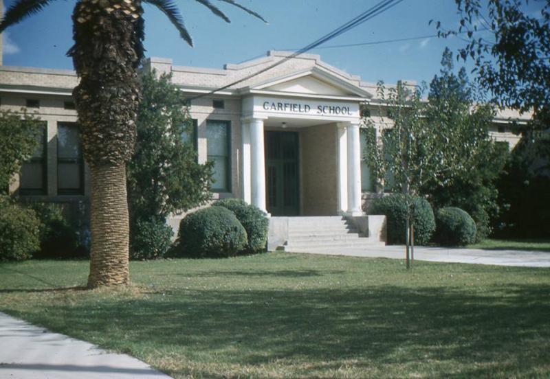 Garfield School 15th St near Roosevelt