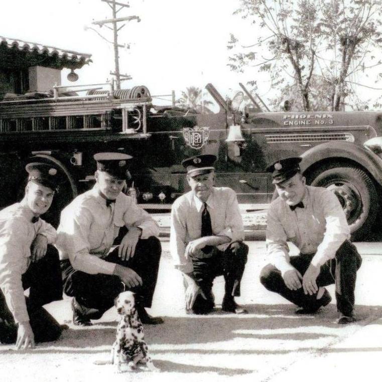 Phoenix Fire Encanto Station 1940s