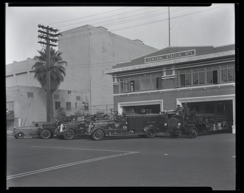 Fire Station 1 1935