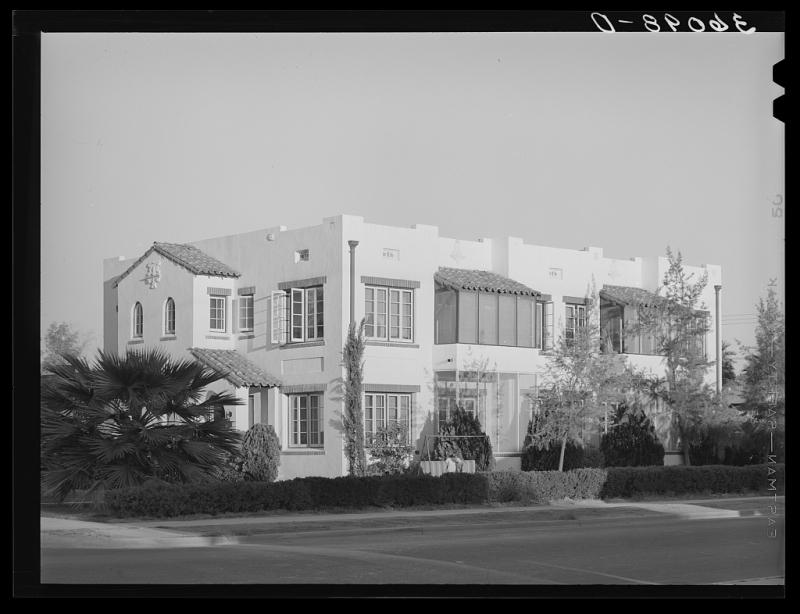 Wiillo apartments 1940