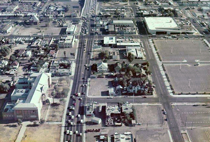 7th_St_Monroe_looking_south_aerial_early_1970s(1)