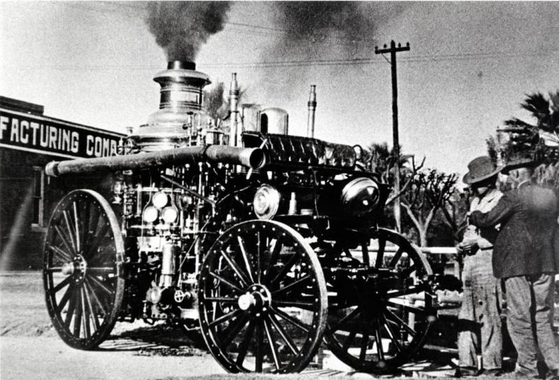 Nott steam fire engine