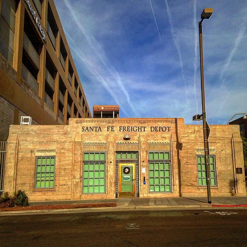 Santa Fe Freight Depot