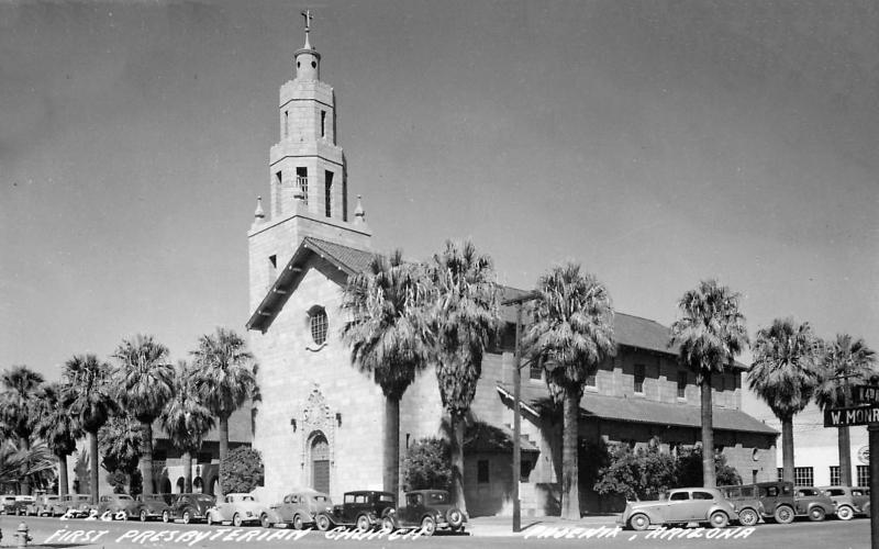 First_Presbyterian_Church_4th_Ave_Monroe_1940s