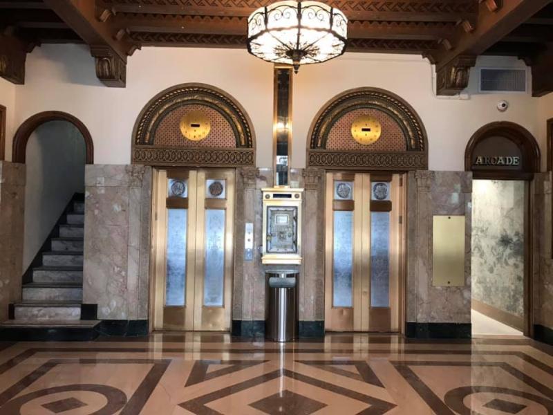 Luhrs Tower lobby