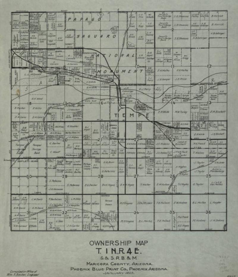 Ts 1 N  Range 4 E  1929