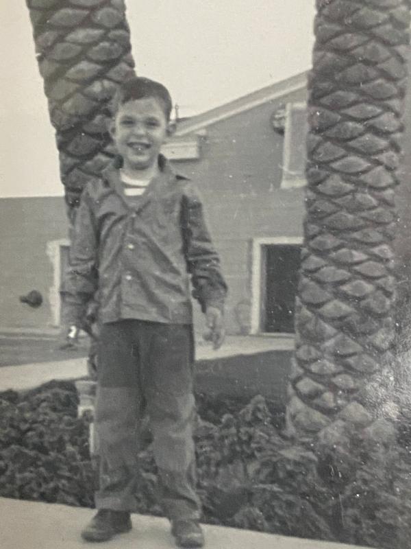 Me age five