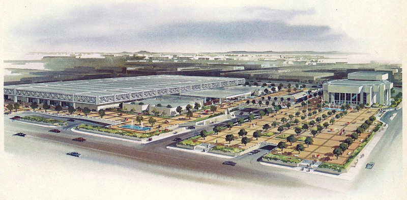 Civic_Plaza_rendering_Monroe_2nd_St_looking_southeast_1970
