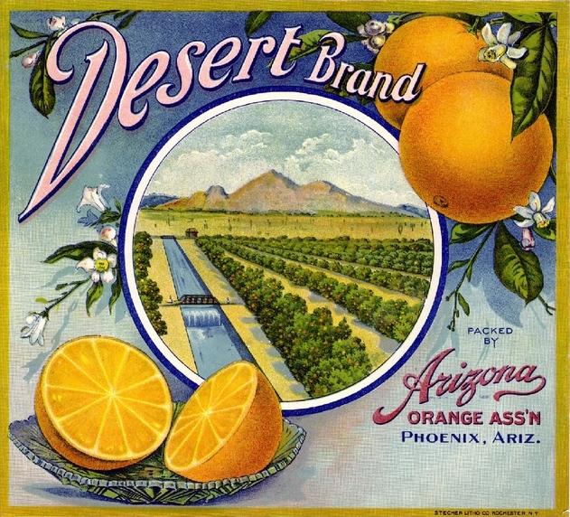 Desert_Brand_orange_crate_label(1)