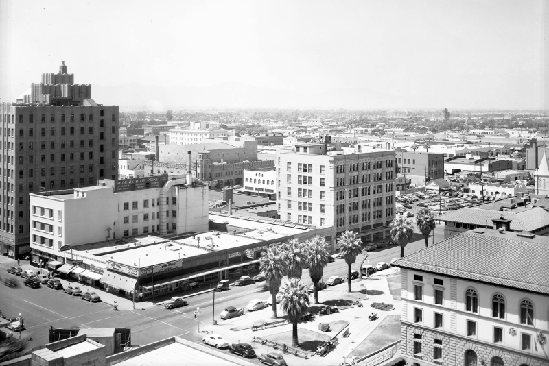 First Ave and Monroe 1946